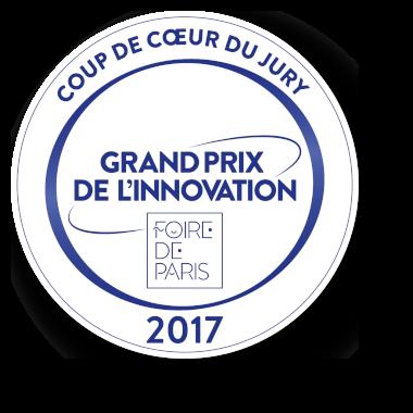 Coup de coeur du jury au grand prix de linnovation 2017