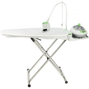 ENSEMBLE TABLE IB 40 CLASSIC GREEN + CENTRALE VAPEUR IS21 GREEN + ACCESSOIRES