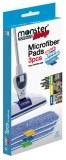 Kit Lingettes microfibres pour balai Monster Mop Exothermique
